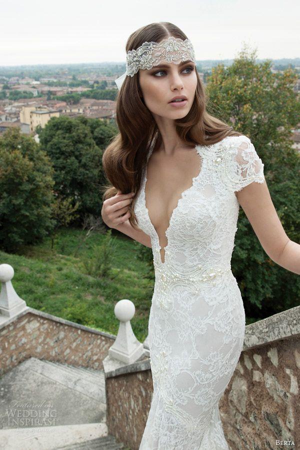 A maior tendência para vestidos de noiva 2014 são os detalhes. Nos preciosos bordados, nas rendas e aplicações.