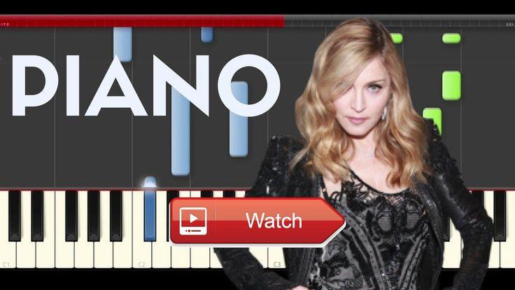 Madonna Ray of Ligth Piano Midi tutorial Sheet app Cover Karaoke