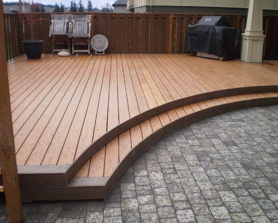 40 best cabin deck ideas images on pinterest | patio ideas ... - Patio Material Ideas