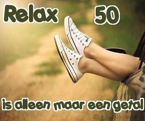 Relax 50 is maar een getal!