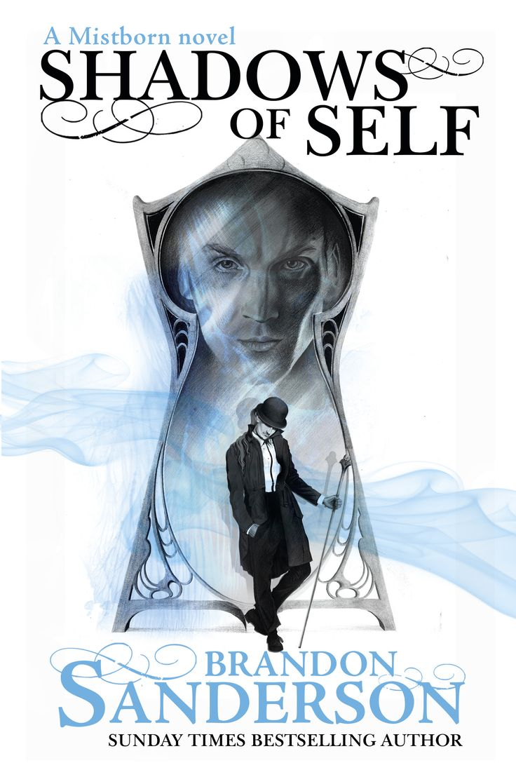 UK #CoverReveal  Shadows of Self (Mistborn, #5) by Brandon Sanderson