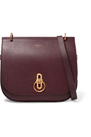 Mulberry | Amberley textured-leather shoulder bag | NET-A-PORTER.COM