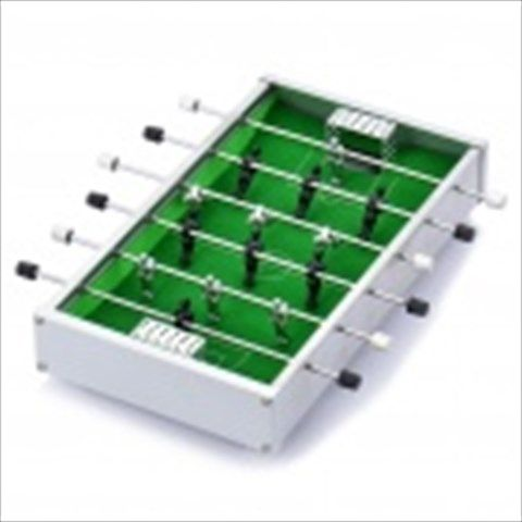 Mini Table Soccer Game Toy - White + Green + Black $35.88