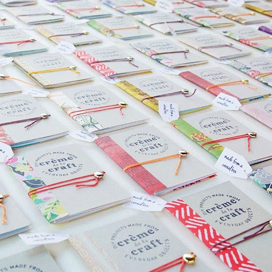 cereal box notebooks - craftgawker