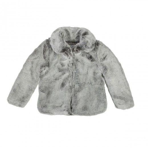 Keep the cold out with this C de C coat! http://www.littlefashiongallery.com/fr/mode-enfant/c-de-c/frigo-girl-coat-grey-c-de-c-h13/