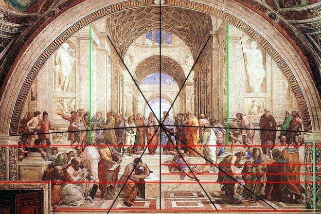 Rafael - La Escuela de Atenas (1510)