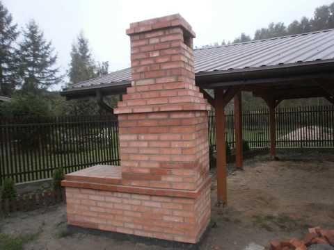 Budowa wędzarni, budowa grilla, kominka - YouTube