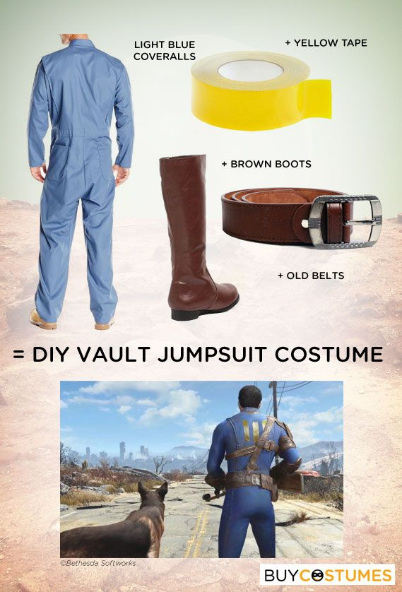 Are you a Fallout fan? Get ideas on how to create your own DIY Fallout-inspired jumpsuit using basic items.