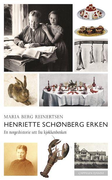Henriette Schønberg Erkens Store kokebok fra 1914 er et monumentalt verk av internasjonalt format med oppskrifter fra gåseleverbrioche til fårikål. Fram til 1951 var den kommet i 20 utgaver og over 200 000 solgte eksemplarer.   Med utgangspunkt i oppskriftene forteller Maria Reinertsen historien om hennes liv, men også om en samfunnsutvikling og jakten på de riktige ingrediensene