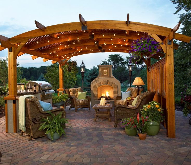 Image result for costco cedar gazebo | Outdoor rooms ... on Backyard Pavilion Costco id=30247