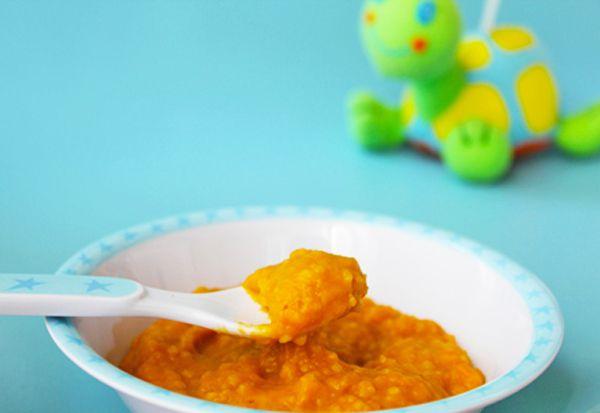 Puré para bebés de cordero, verduras y pasta