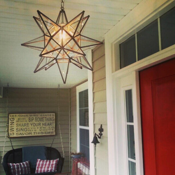 iu0027ve wanted one of these moravian star lights for years our porch light