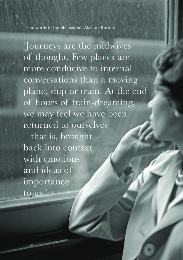 This is a beautiful reflection on the ideas that float through your mind before and after travel.