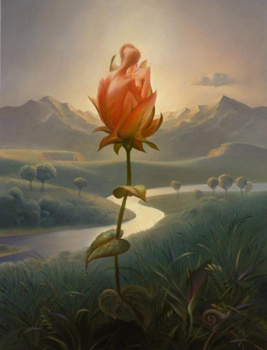 Morning Blossom @Vladimir_Kush