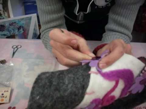 Idea creativa: ecco come creare borse di feltro