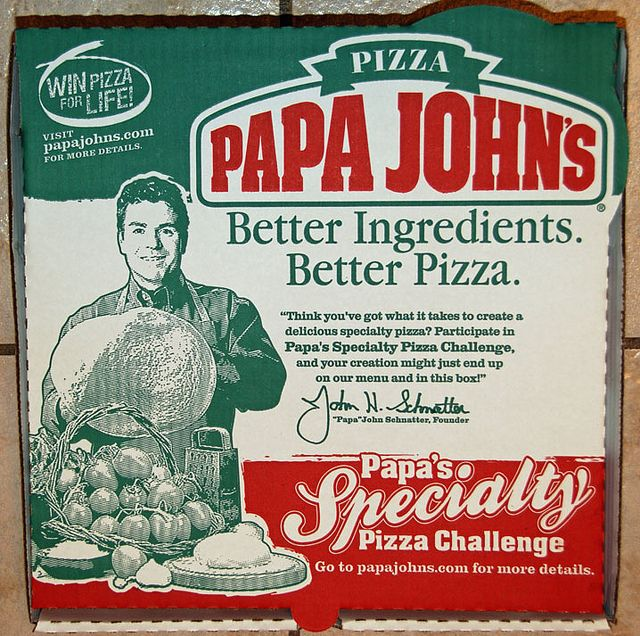 Papa John's Pizza Box | Flickr - Photo Sharing!