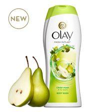 Olay Fresh Outlast® Crisp Pear & Fuji Apple Body Wash