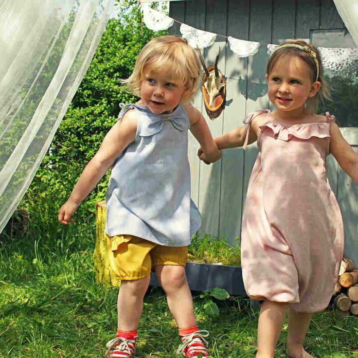 Solvej kjole/top str. 1-3 + 4-6 år