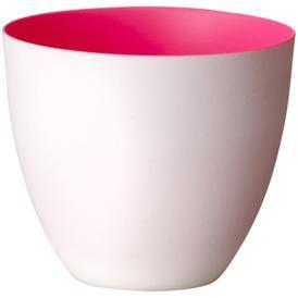 Ønsker mig to - Fyrfadsstage - Porcelæn - Pink inderside fra bloomingville