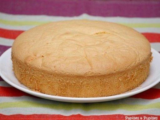 Gâteau de Savoie facile - Recette de cuisine Marmiton : une recette