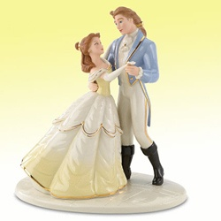 Belle And The Prince Cake Topper Yes Disney Love