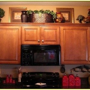 Posts Related To Decorating Above Kitchen Cabinets