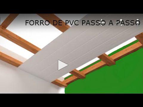 FORRO PVC PASSO A PASSO FAÇA VOCÊ MESMO                                                                                                                                                                                 Mais