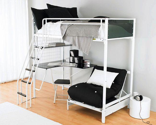 HappyModern.RU | Двухъярусная кровать для взрослых — эргономика и функциональность | http://happymodern.ru