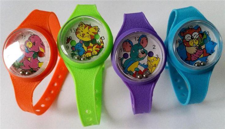 Bulk Lot x 12 Wrist Watch Games Kids Party Favors Fun Novelty Toys New