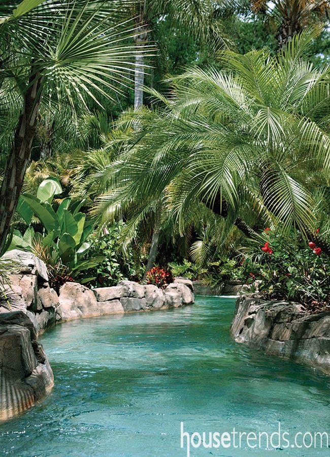 Small Backyard Lazy River Pools : 1000 idee su Backyard Lazy River su Pinterest  Piscina Lazy River