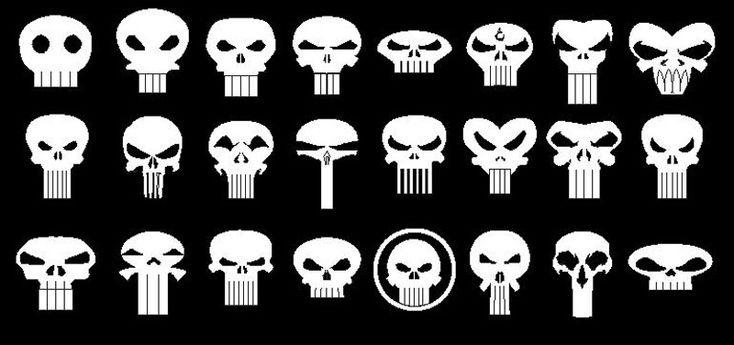 The Punisher Logos