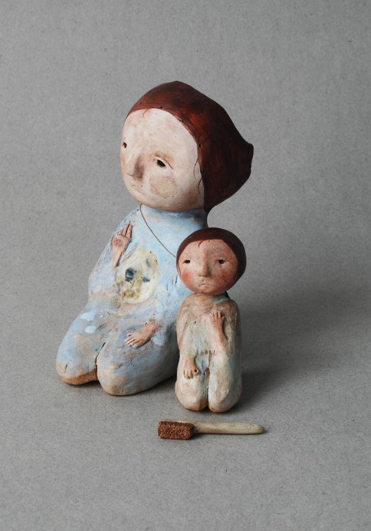 Kate Fitzharris - Brush (Ceramic)