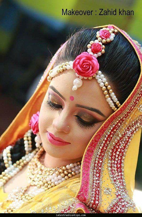bangladeshi-bridereception-attirezahid-khan-makeover..!@!@ its a wow fact of bridal make over.....!@! #weddingmake #bridallook  #covaiweddingshoppers