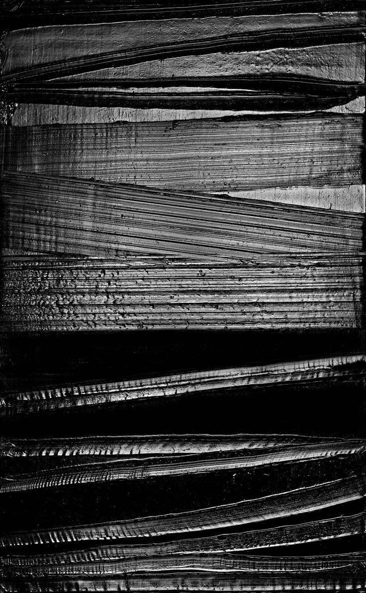Pierre Soulages. Peinture 222 x 137 cm, 2015