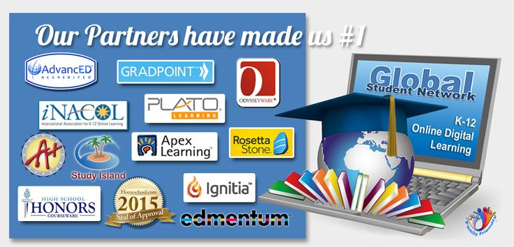 Global Student Network List and descriptions of online homeschool programs and courses