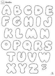 Resultado de imagem para molde de letras para patchwork