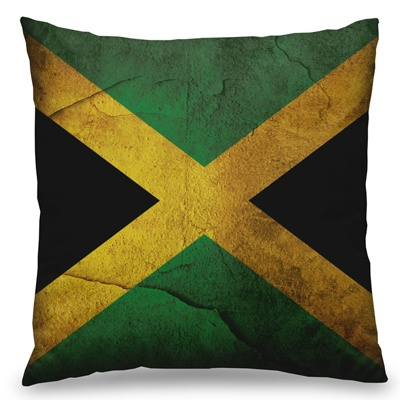 Almofada Bandeira da Jamaica - R$59.90