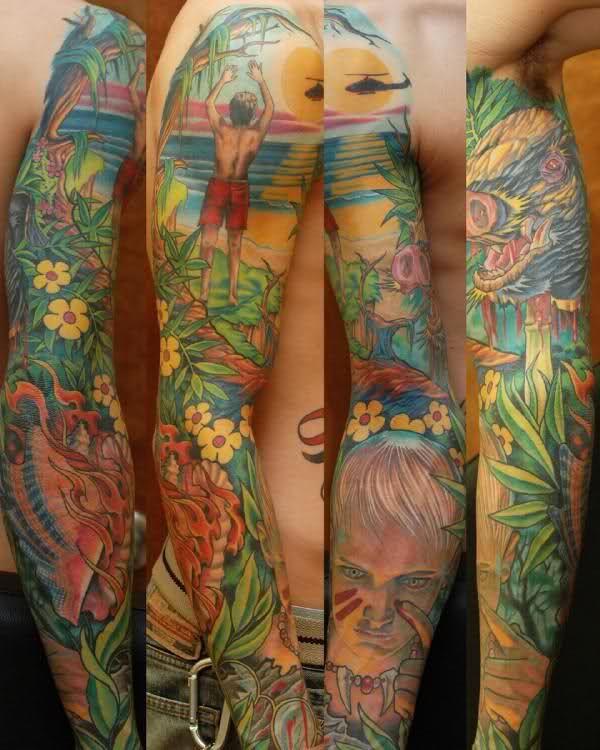 Christmas Abbott Tattoos Sleeve