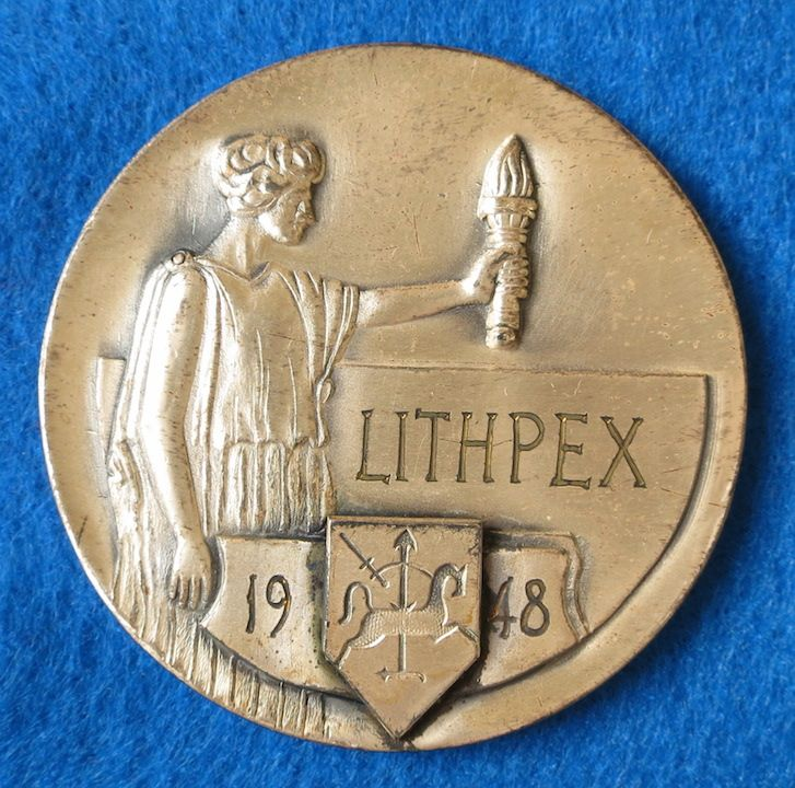Lithuania Philatelic Society Chicago.iL 1948
