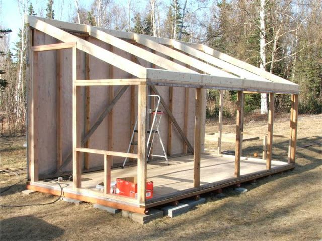 Greenhouse side, put a cottage or tool shed on the north side.