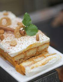 Pumpkin Tiramisu  Sprinkle Bakes: Fall Recipes   sprinklebakes.com