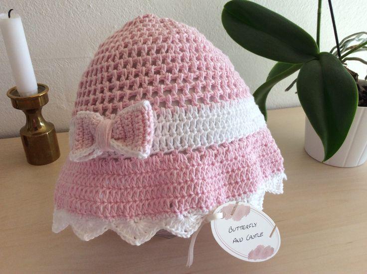 Crochet Summer Hat / Hæklet sommerhat