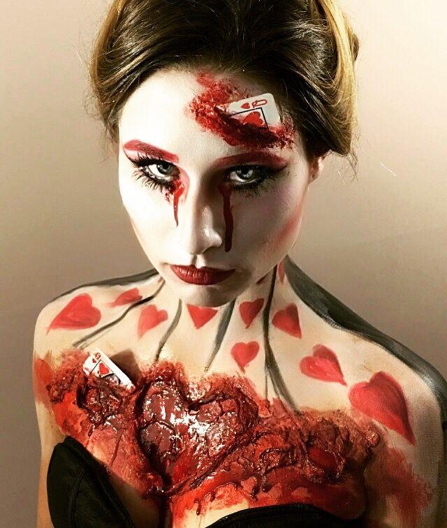 Queen of Hearts Makeup ❤️