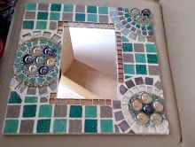Mosaico con espejo