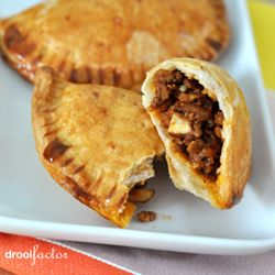 Mexican street food in your own kitchen - Sweet & Spicy Beef Empanadas. Easy to prepare and totally delicious.