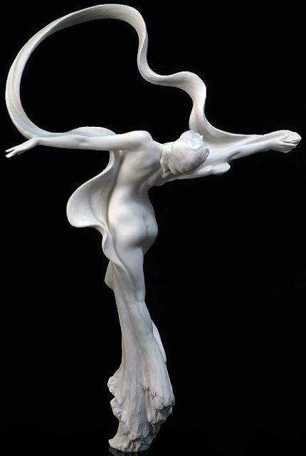 Gaylord Ho. His goal in every sculpture is to bring to life the emotion of the moment being frozen forever in clay.