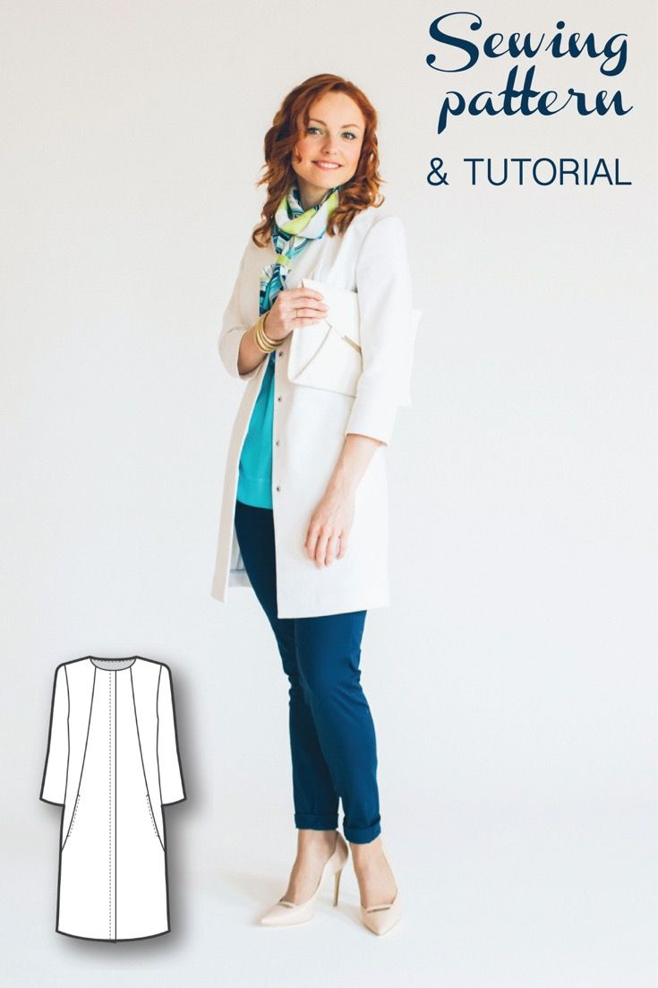 106 best sewing patterns images on pinterest sewing tutorials womens sewing patterns sewing tutorials coat patterns jacket coat sewing patterns clothing patterns modern sewing patterns jeuxipadfo Choice Image