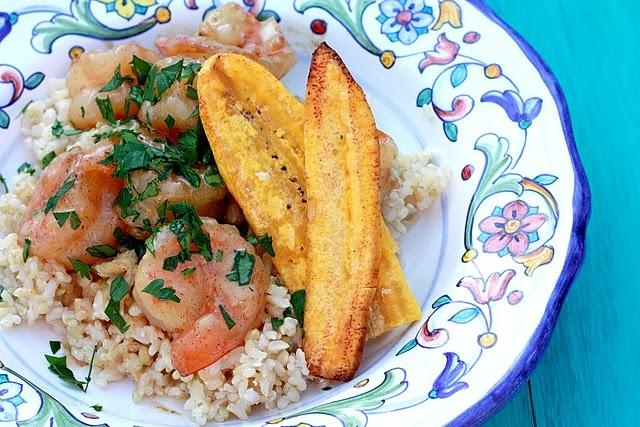 Tahitian vanilla bean coconut shrimp #shrimp #vanilla #coconut #tahiti