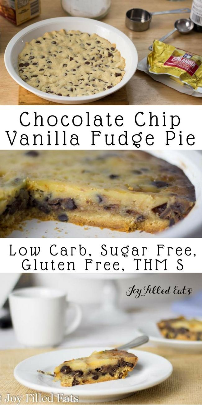 Buttery flaky pastry topped with a creamy vanilla fudge like layer & chocolate chips. This make ahead Chocolate Chip Pie should be your new go to dessert. via #ad @joyfilledeats @finlandiacheese