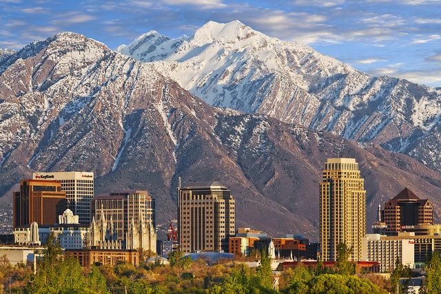 I have been to SLC several times, and have managed to experience all four seasons on my trips there.